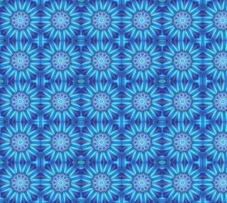 Aperçu de Unique Blue and Purple Abstract Pattern