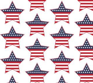 Aperçu de USA Star - Patriotic, 4th of July