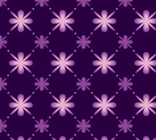 Aperçu de Deep Purple Abstract Pattern