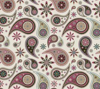 Aperçu de Retro Paisley and Floral