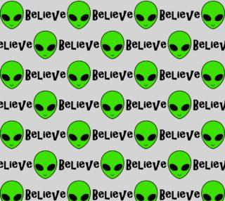 Aperçu de BELIEVE - Green Alien
