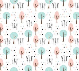 Aperçu de Pastel Pink and Blue Trees