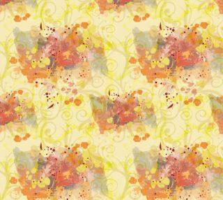 Aperçu de Fall Fabric - splashes of color.