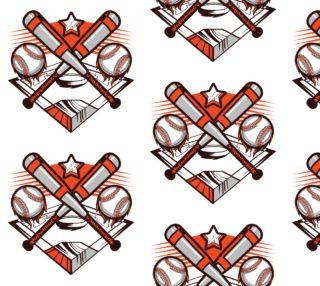Aperçu de Baseball Fabric