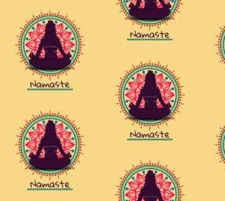 Aperçu de Namaste Yoga Fabric