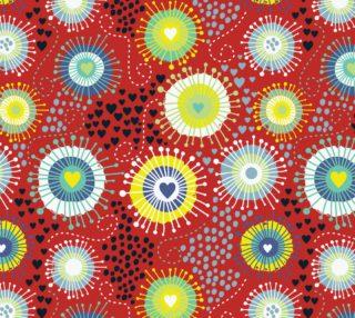 Aperçu de Vintage Abstract Floral