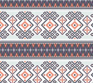 Aperçu de Geometric Abstract Aztec Pattern