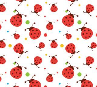 Aperçu de Ladybugs  and  Colorful Polka Dots