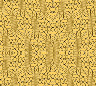 Orange Pineapple Twist Fabric preview