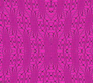 Pink Pineapple Twist Fabric preview