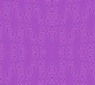 Purple Pineapple Twist Fabric preview