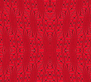 Red Pineapple Twist Fabric preview