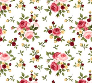 Pretty Pink Roses - Vintage  preview