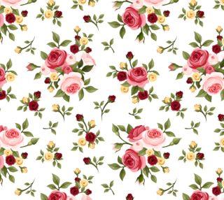 Aperçu de Pretty Pink Roses - Vintage