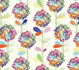 Aperçu de Colorful Retro Floral