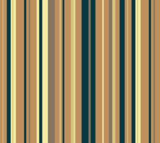 Aperçu de Classic Stripes - Blue, Tan, Cream