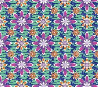 Aperçu de Colorful Floral Abstract