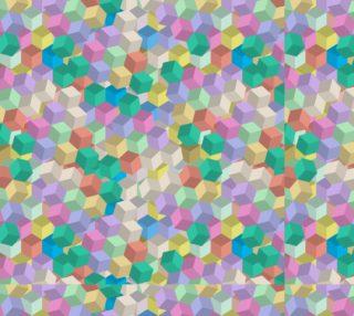 Aperçu de Pretty Pastel 3D Cubes