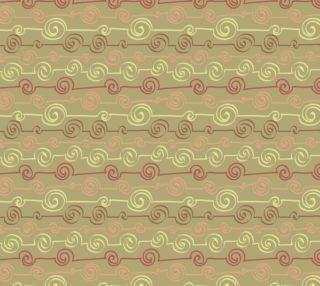 Aperçu de Abstract Swirls on Tan Background - Earth tones