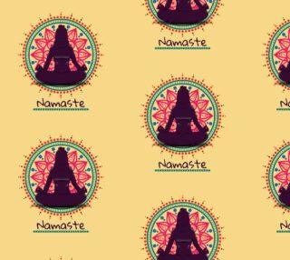 Aperçu de Namaste Buddhist Yoga Fabric