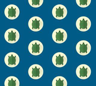 Aperçu de Turtles - Blue Background
