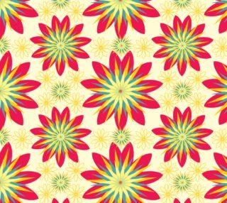 Aperçu de Retro Flower Pattern