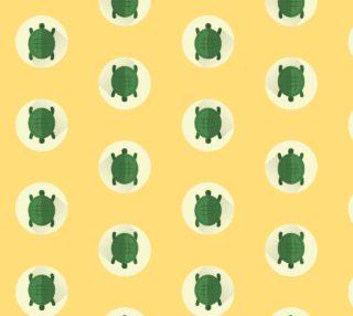 Aperçu de Turtles on Yellow Background