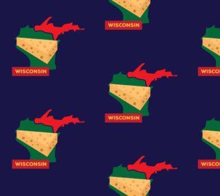 Aperçu de State of Wisconsin Fabric