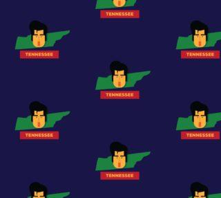 Aperçu de State of Tennessee - Elvis Cartoon