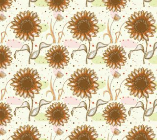 Aperçu de Gorgeous Vintage Floral - Earth Tones