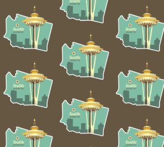 Aperçu de Seattle, WA Space Needle