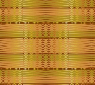 ethnic golden geometric african pattern. preview