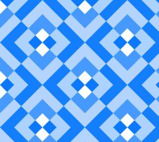 Aperçu de Blue and WHite Geometric