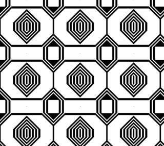 Aperçu de Black and white Geometric 15