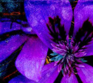 Purple flower preview