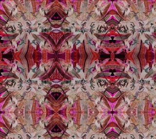 Hummingbird dance IV mosaic preview