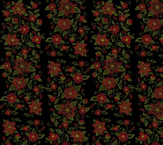 Metis Art Fabric Native Beading Pattern Fabric preview