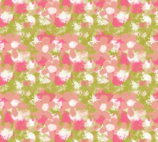 Abstract Peach Flowers preview