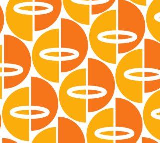 Mid-Century Modern Orange/Gold preview