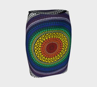 Rainbow Fitted Skirt preview