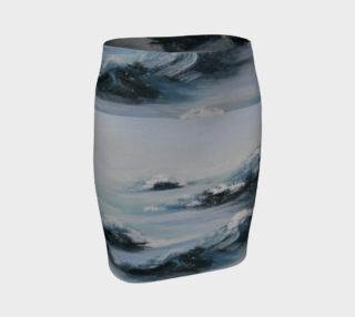 Arctic Chill fitted Skirt preview