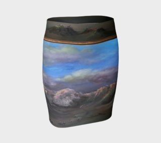 Southwest Canyon fitted skirt preview