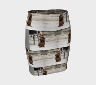 Utterly Italy Vernazza Dog Fitted Skirt preview