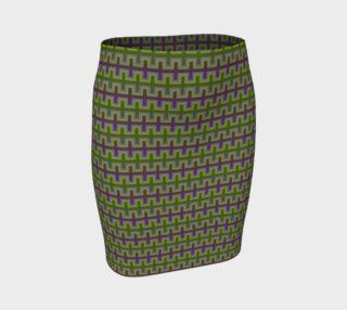 Aperçu de Purple and Green Southwest Blanket