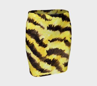 Yellow tiger fur preview