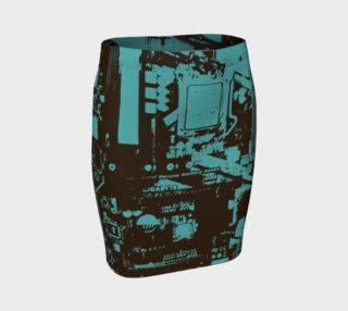 Gigabyte Girl Skirt by HOLLIDAY preview