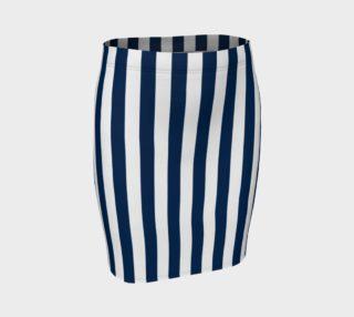 Aperçu de Navy Blue and White Stripes