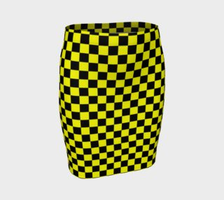 Aperçu de Black and Yellow Checkerboard Squares