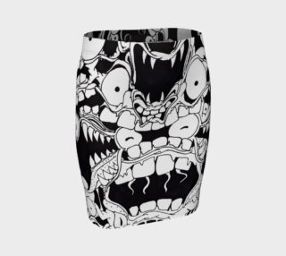 Monster Skirt (Fitted) preview