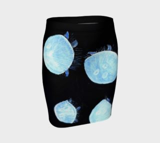 Blue jellyfishes preview